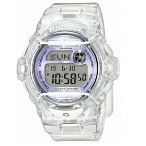 Casio Baby-G Ladies Clear Digital Watch BG-169R-7EER