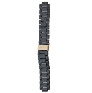 DKNY Replacement Watch Strap Black Ceramic 20mm For NY4984