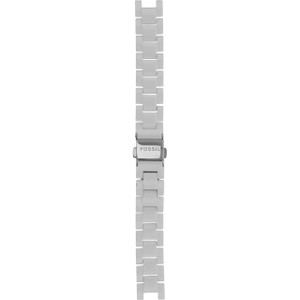 Fossil Replacement Watch Strap White For CE1026