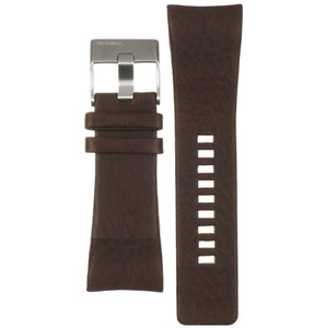 Diesel Replacement Watch Strap Brown Genuine Leather For DZ1317