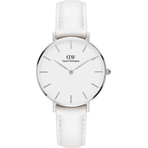 Daniel Wellington Women's Classic Petite Bondi White Dial Watch DW00100190