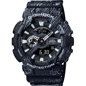Casio G-Shock Men's Grey Camouflage Analogue And Digital Display Watch GA-110TX-1AER