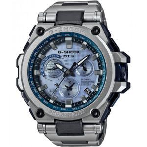 G-Shock MTG Hybrid GPS Solar Powered Ice Blue Dial Watch MTG-G1000RS-2AJF