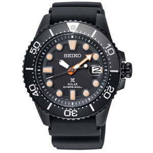 Seiko Prospex Black Series Limited Edition Diver's Solar Watch SNE493P1