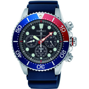 Seiko Prospex Seas PADI Solar Powered Chronograph Watch SSC663P1