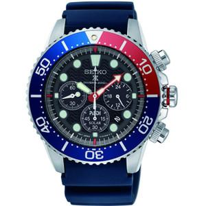 Seiko Prospex Seas PADI Solar Powered Chronograph Watch SSC663P1