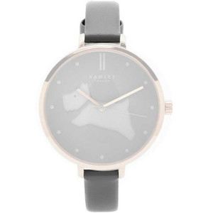 Radley Replacement Grey Leather Watch Strap 10mm For RY2364