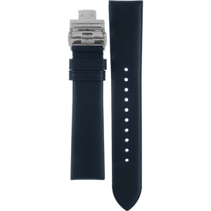 Armani Replacement Watch Strap For AR1647 Blue Genuine Leather With Free Connecting Pins