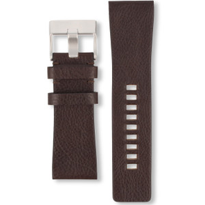 Diesel Replacement Watch Strap Brown Leather For DZ4139