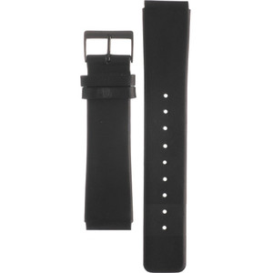 Skagen Watch Replacement Black Leather Strap 22mm For 233XLCLB