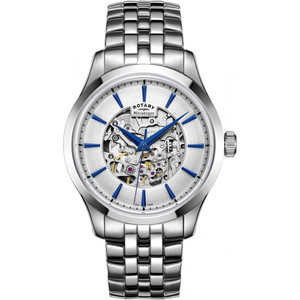 Rotary Men's Mecanique Skeleton Automatic Stainless-Steel Bracelet Watch GB05032/06