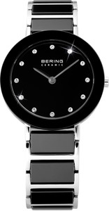 Bering Black Ceramic Ladies Watch 11429-742