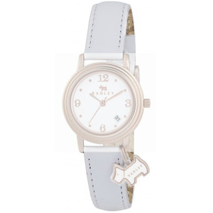 Radley Replacement White Leather Watch Strap 13mm For RY2006 With Free Pins