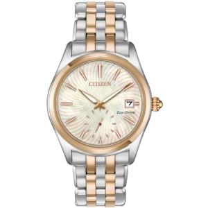 Citizen Women's Eco-Drive Corso Two-Tone Stainless-Steel Bracelet Watch EV1036-51Y