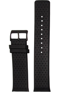 Skagen Replacement Black Leather Watch Strap 25mm For 806XLTBLB With Free Connecting Screw