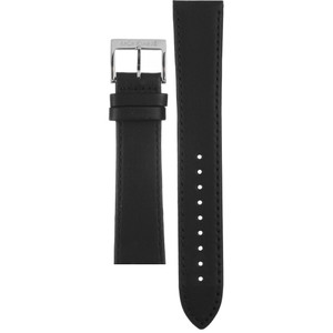 Mondaine Replacement Black Leather Strap 20mm FE24320.20Q.1 With Free Pins