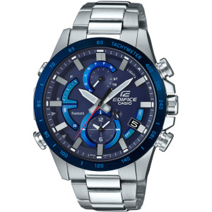 Casio Edifice Bluetooth Tough Solar LED Chronograph Blue Watch EQB-900DB-2AER