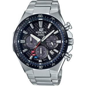 Casio Edifice Solar Carbon Sapphire Chronograph Watch EFS-S520CDB-1AUEF