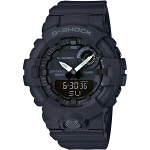 G-Shock Bluetooth App Fitness Step Tracker Black Watch GBA-800-1AER