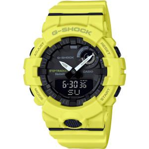 G-Shock Bluetooth App Fitness Step Tracker Yellow Watch GBA-800-9AER
