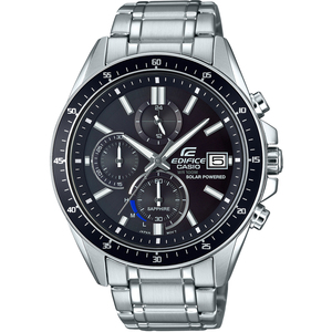 Casio Edifice Solar Sapphire Chronograph Black Dial Watch EFS-S510D-1AVUEF