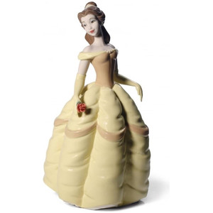 Nao Porcelain Disney Princess Belle Figurine 02001708