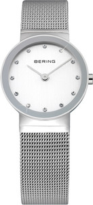 Bering Silver Mesh Ladies Watch 10126-000