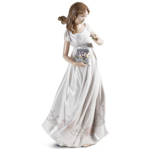 Lladro Porcelain Treasures Of The Earth Woman Figurine 01006921