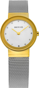 Bering Silver Mesh Ladies Watch 10126-001