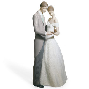 Lladro Porcelain Together Forever Couple Figurine 01008107