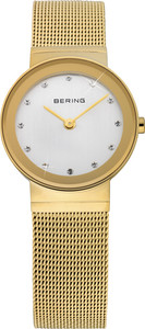 Bering Gold Mesh Ladies Watch 10126-334