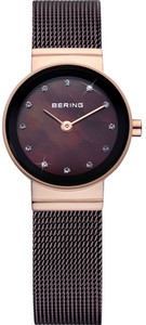 Bering Rose Gold Ladies Watch With Mother of Pearl Dial 10122-265
