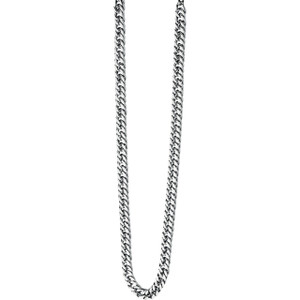 Fred Bennett Maverick Men's Stainless-Steel Curb 56cm Necklace N3224