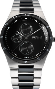 Bering Multidial Silver Mens Watch 32339-742