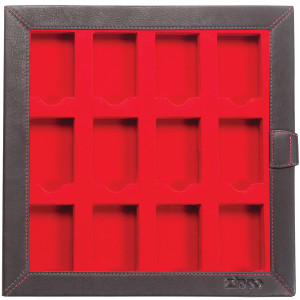 Zippo Collectors Leather Storage Box For 12 Lighters