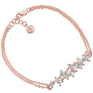Sif Jakobs Antella 18k Rose Gold Plated Cubic Zirconia Bracelet SJ-B1008-CZ(RG
