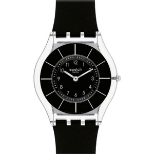 Swatch Skin Collection Black Classiness Slim Watch SFK361