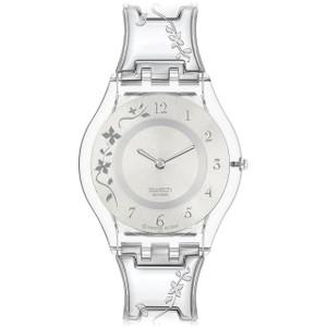 Swatch Skin Collection Slim Climber Flowery Bracelet Watch SFK300G