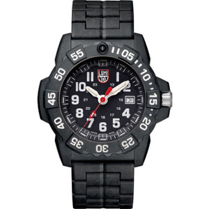 Luminox Navy Seal 3500 Series Carbon Case Bracelet Watch XS.3502