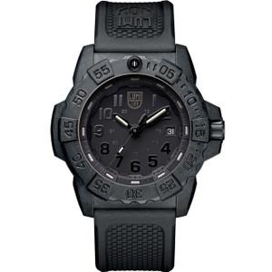 Luminox Navy Seal 3500 Series Black Dial Carbon Case Strap Watch XS.3501.BO