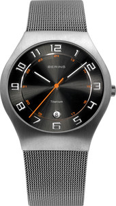 Bering Titianium Mesh Mens Watch 11937-007