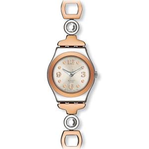 Swatch Irony Lady Passion Women's Quartz Silver Dial Stainless-Steel Bracelet Watch YSS234G