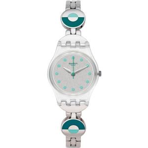 Swatch Mediterranean Views Blue Pastel Women's Stainless-Steel Bracelet Watch LK377G