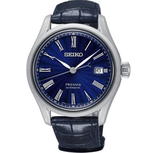 Seiko Presage Shippo Enamel Limited Edition Automatic Blue Watch SPB075J1