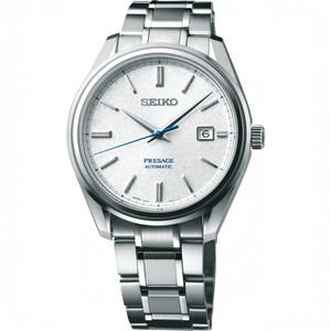 Seiko Presage Snowflake Limited Edition Sapphire Automatic Bracelet Watch SJE073J1