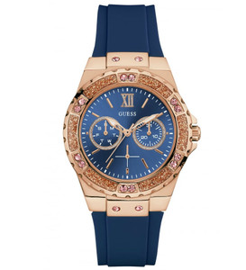 Guess Multi-function Blue Dial Women's Watches W1053L1