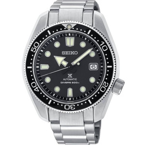 Seiko Prospex Men's Diver's Recreation Black Dial Automatic Stainless-Steel Bracelet Watch SPB077J1