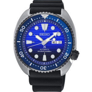 Seiko Prospex Men's Turtle Save The Ocean Automatic Diver's Strap Watch SRPC91K1