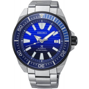 Seiko Prospex Men's Samurai Save The Ocean Automatic Diver's Stainless-Steel Bracelet Watch SRPC93K1