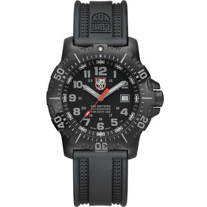 Luminox Authorised For Navy Use Sapphire Crystal Black Strap Watch 4221
